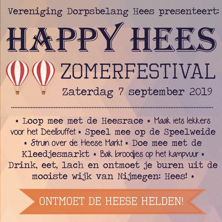 Happy Hees 7 september