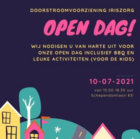Open dag 10 juli Schependomlaan 83